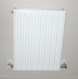 Standard double panel steel radiator